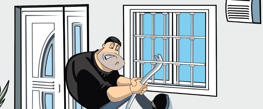 Proteggersi dai furti con le grate di sicurezza alle finestre